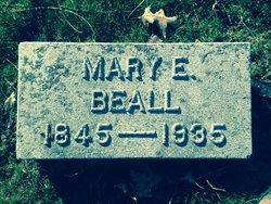 Mary Elizabeth <I>Langston</I> Beall