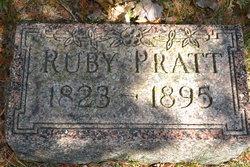 Ruby <I>Halladay</I> Pratt