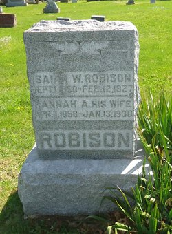 Hannah Ann <I>Hootman</I> Robison