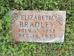 "Angeline Elizabeth ""Betty"" <I>Gates</I> Bradley"