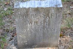 Phebe A <I>Taft</I> Wiley