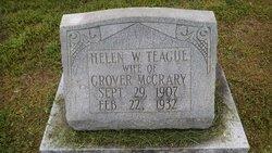 Willie Helen <I>Teague</I> McCreary