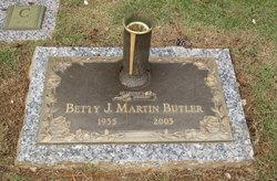 Betty Jean <I>Martin</I> Butler