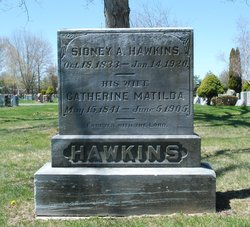Catherine Matilda <I>Penney</I> Hawkins