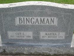 Martha J <I>Gross</I> Bingaman