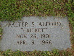 "Walter S. ""Cricket"" Alford"