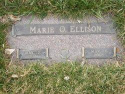 Marie Ollie <I>Carr</I> Ellison