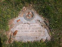 Bertha <I>Dale</I> Allred