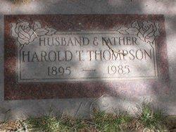 Harold T Thompson