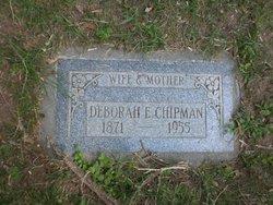 Deborah <I>Evans</I> Chipman