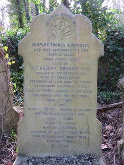 Private Albert Edward Humphreys