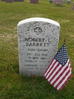 PFC Robert Lee Barrett