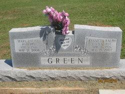 Mary Louise <I>Roberts</I> Green