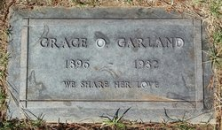 Grace Olive <I>Nicholls</I> Garland