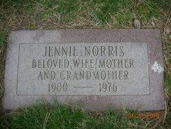 "Jean ""Jennie"" <I>Richman</I> Norris"