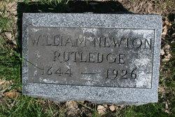 Rev William Newton Rutledge