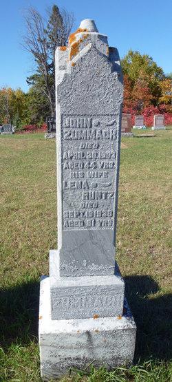 "Carolina ""Lena"" <I>Runtz</I> Zummach"