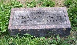 Lydia Ann Fowler
