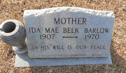 Ida Mae <I>Woods</I> Barlow