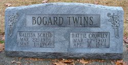 Hattie B <I>Bogard</I> Crowley