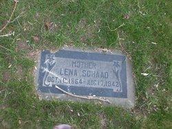 Lena <I>Albright</I> Schaad