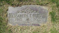 Elizabeth T <I>Berry</I> Beeson