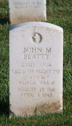 John M Beatty
