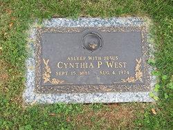 Cynthia Arlena <I>Patterson</I> West