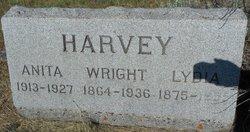Lydia <I>Cartwright</I> Harvey