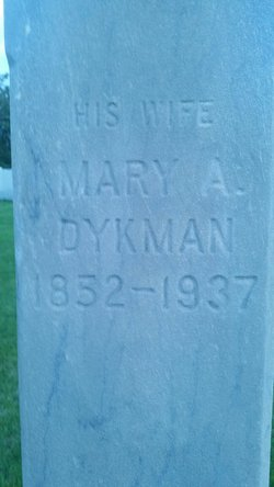 Mary Alice <I>Dykman</I> Mawson