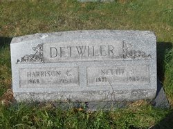 Nettie Jane <I>Estright</I> Detwiler