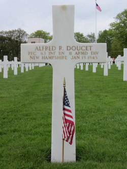 PFC Alfred R Doucet