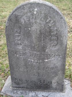 Elizabeth A. <I>Jacobs</I> Thayer