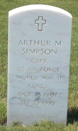 Arthur M Simpson