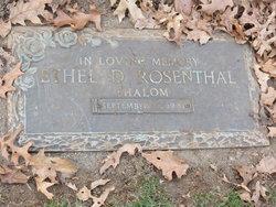 Ethel Rosenthal