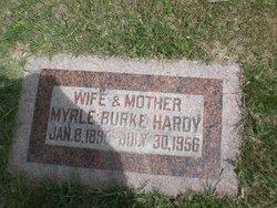 Myrle <I>Burke</I> Hardy