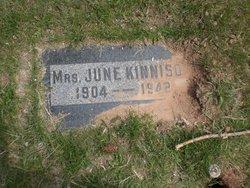 June Eva <I>Watts</I> Kinnison