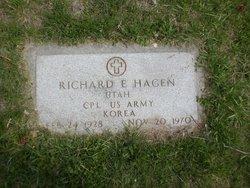 Richard E Hagen