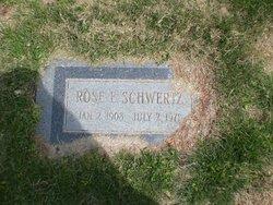 Rose Elizabeth <I>Gordon</I> Schwertz