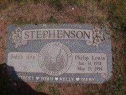 """Philip Lewis """"Phil"""" Stephenson"""