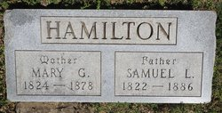 Mary Grant <I>Eward</I> Hamilton