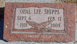 Opal Lee <I>Jones</I> Shipps