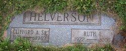 Ruth E <I>Hager</I> Helverson