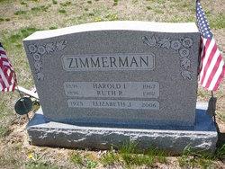 Elizabeth Jane Zimmerman