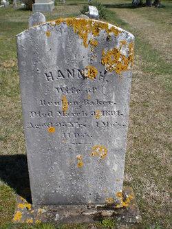 Hannah <I>Bangs</I> Baker