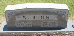 Zora Belle <I>Carlisle</I> Burton