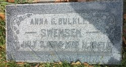 Anna Giles <I>Bulkley</I> Swenson