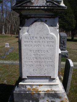 Rebecca <I>Berry</I> Bangs