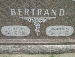 Milrae E. <I>Christensen</I> Bertrand