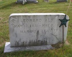 Marinda <I>Leavitt</I> Alden